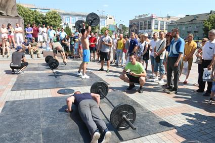 Cross Fit Competition