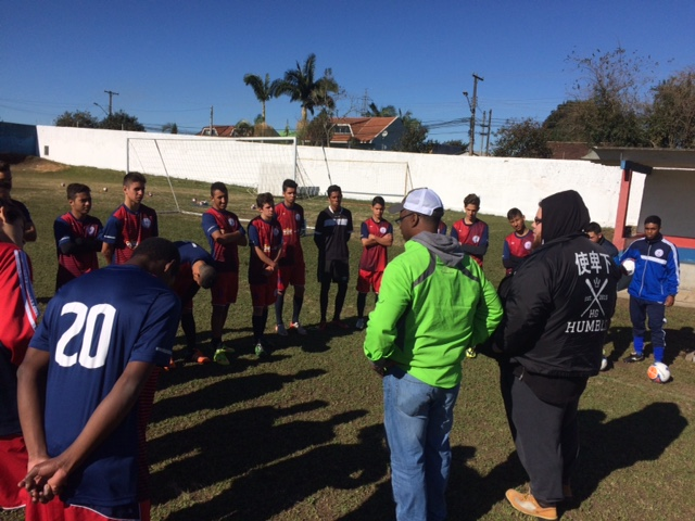 Ministering to Football Teams in Brazil