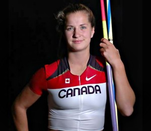Brooke Pighin, Team Canada Track and Field.