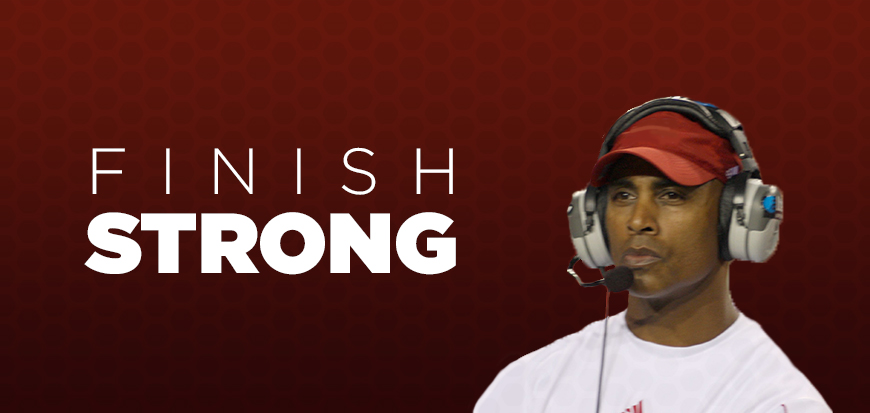Ron Brown Finish Strong